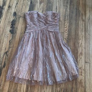 Hailey Adrianna Papell Sequin Dress